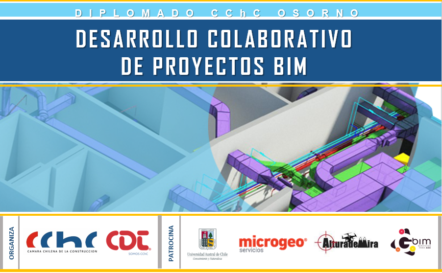 """Diplomado """"Desarrollo Colaborativo de Proyectos BIM"""" V2"""